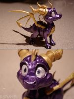 Work in Progress 2: Spyro Maquette by R-Spanner