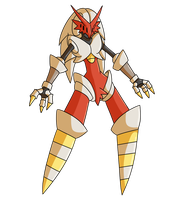 Pokemon Fusion Prize Donation: Hyperforcego by MTC-Studios