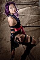 Psylocke: Pinup Edition by alita-b-angel
