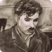 Charlie Chaplin by blacknimproud
