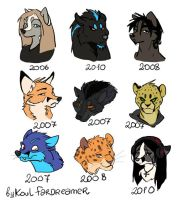 My characters by 2078