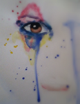 Eye - Watercolour Experiment by KaiPackman