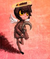 Angel Karkat by Mewball
