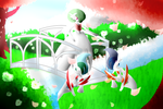 Royal Ralts Evolution Line by Cleasia