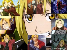 Edward Elric collage by Ce-CeRiddle