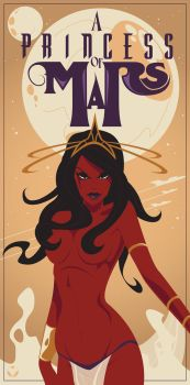 A Princess of Mars Dejah Thoris by MikeMahle