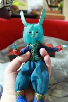 Blue Bunny WIP by l-heure-du-the