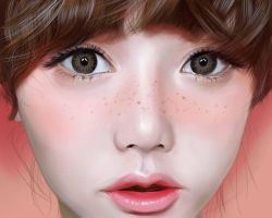Digital Painting:Ulzzang by iluvlollipop22