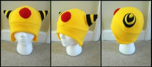 Ampharos Hat by CosmicalFox