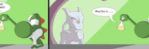 Mewtwo and Catnip by Natty354