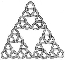 Sierpinski Triangle Knot by pauljs75
