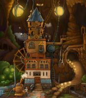 The residence of mechanic by Mirchaz