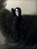 The Crow Ode to Brandon by Anarch-inks