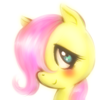 Little Fluttershy by dzetaWMDunion