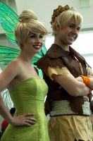 Tinkerbell and Terence by Chingrish