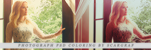 PHOTOGRAPH psd coloring by scargraf by Scargraf