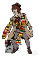 Tom Baker in colour by IronOutlaw56