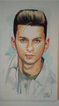 Dave Gahan by TomHornArt