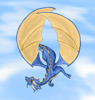Male Timekeeper Dragon by TheFamousEccles