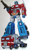 I am Optimus Prime by CYBERBUTTERFLY
