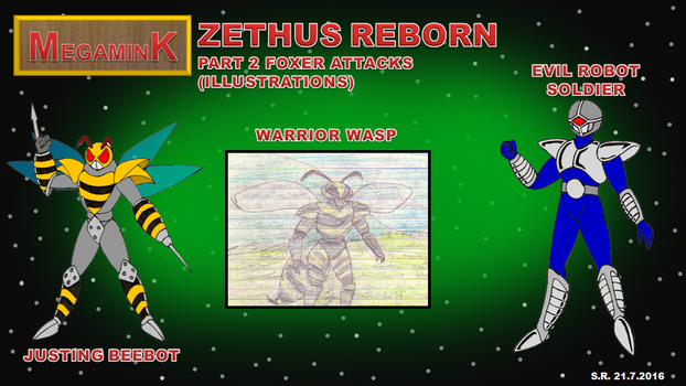 Megamink Zethus Reborn Part 2 Illustrations by Megamink1997