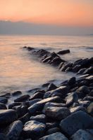 Sunset at Kimmeridge by xessencex