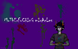 Gamzee Makara Wallpaper by RoseSwan