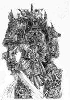 Primarch-Lion El'Johnson by DeVmarine