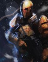 Deathstroke by Geokeeno