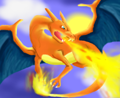 Charizard by JashinsAngel