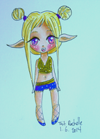 Elf Chibi by TaitRochelle
