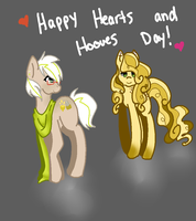 Happy Hearts and Hooves Day! by CometStre