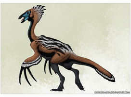 Therizinosaurus by DoruDrutt