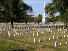 Mound City National Cemetery 1 by lastchancelimited