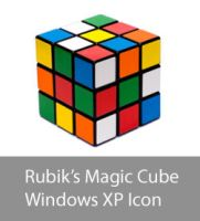 Rubik's Magic Cube XP Icon by mininudoidu