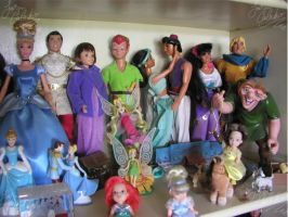 Disney and Animated dolls 4 by JCproductions