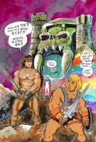 Heman meets Conan or Fabulous Secret Powers by strawmancomics