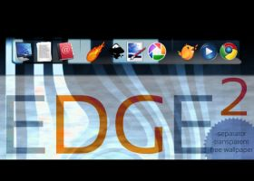 EDGE Squared Rocketdock Theme by GamerWorld14