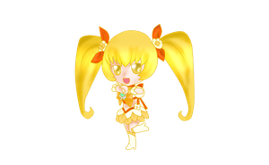 Cure Sunshine Chibi by 4cherryjuice