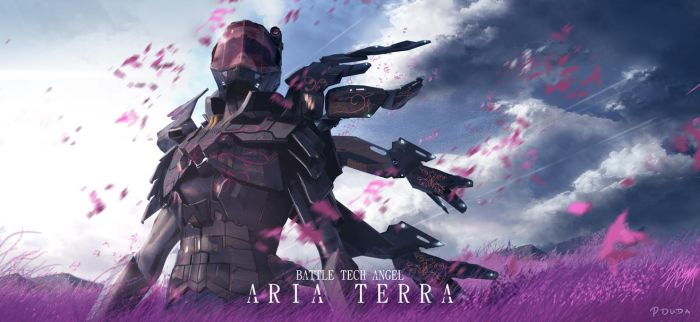battle tech angel Aria Terra by przemek-duda