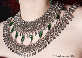 Cleopatra's Collar - Detail by LadyLockeout