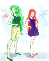 Green and Red by Le-Artist-Boheme