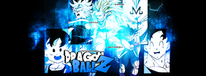 [PORTADA FUEGO AZUL] Dragon Ball Z by ZeuzGraphics