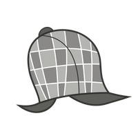 Vector - Hat: Sherlock by MisterAibo