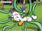 Gatomon by 8h FIXED BACKGROUND by bbmbbf