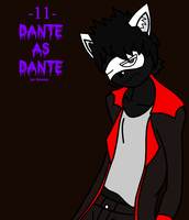 COSTUMEWEEN -11- Dante as Dante by TheSpiderManager