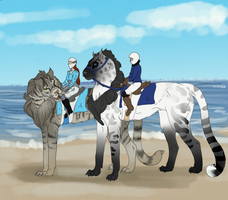 Beach ride by EdithSparrow