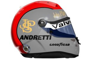 Mario Andretti Helmet by engineerJR