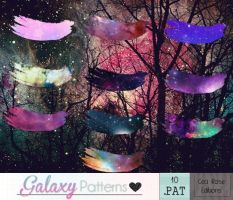 Galaxy - Patterns by CeciiDeRose