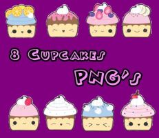 Cupcakes PNG by Mica-Editions